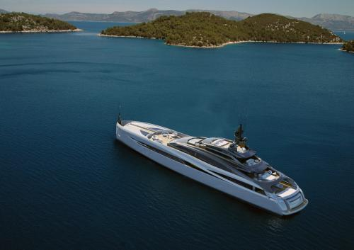 INFINITY 59 - Luxury Motor Yacht For Sale - Exterior Design - Img 1 | C&N