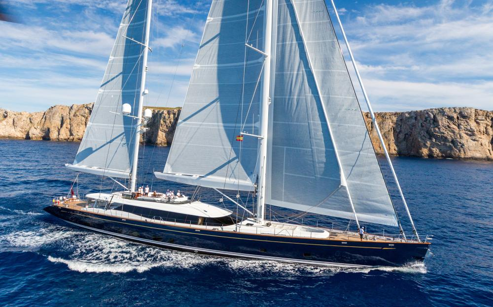 Q - Luxury Sailing Yacht for Charter | C&N