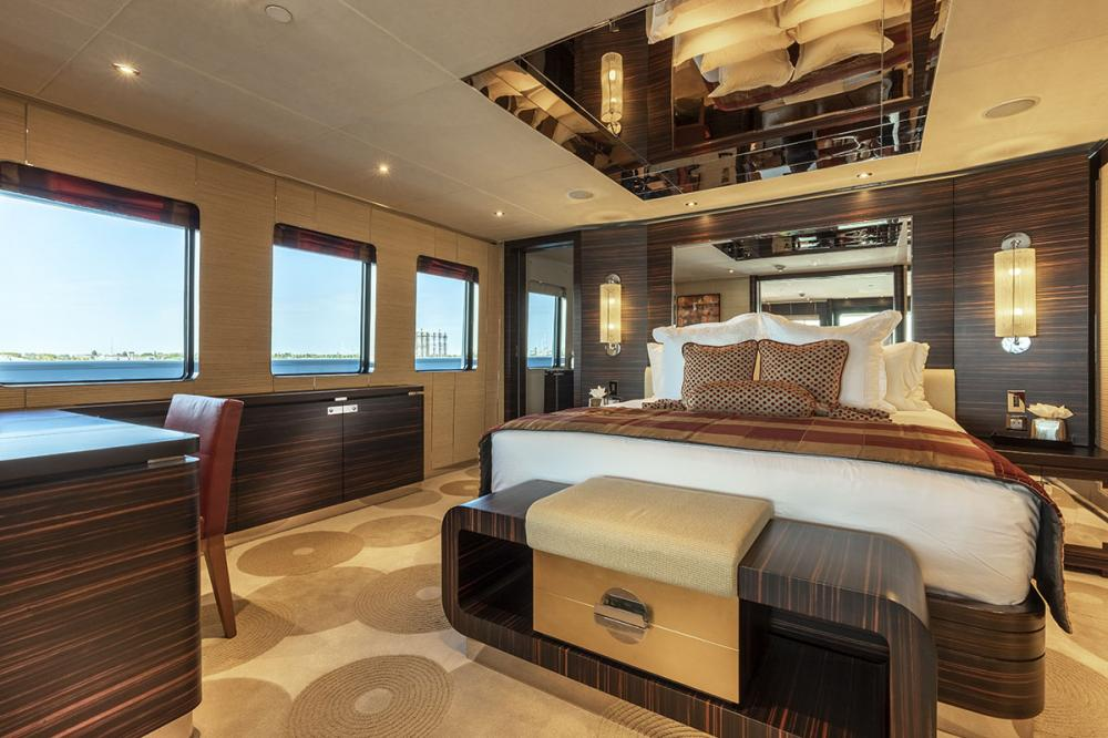 QING - Luxury Motor Yacht For Sale - 1 MASTER CABIN - Img 1 | C&N