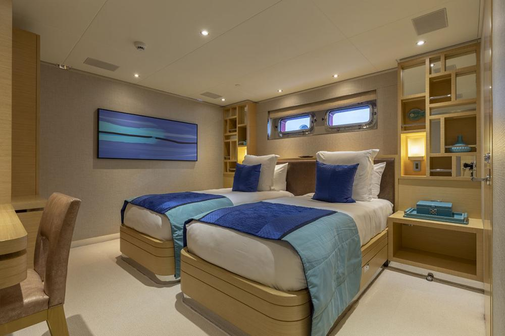 QING - Luxury Motor Yacht For Sale - 1 TWIN CABIN - Img 1 | C&N