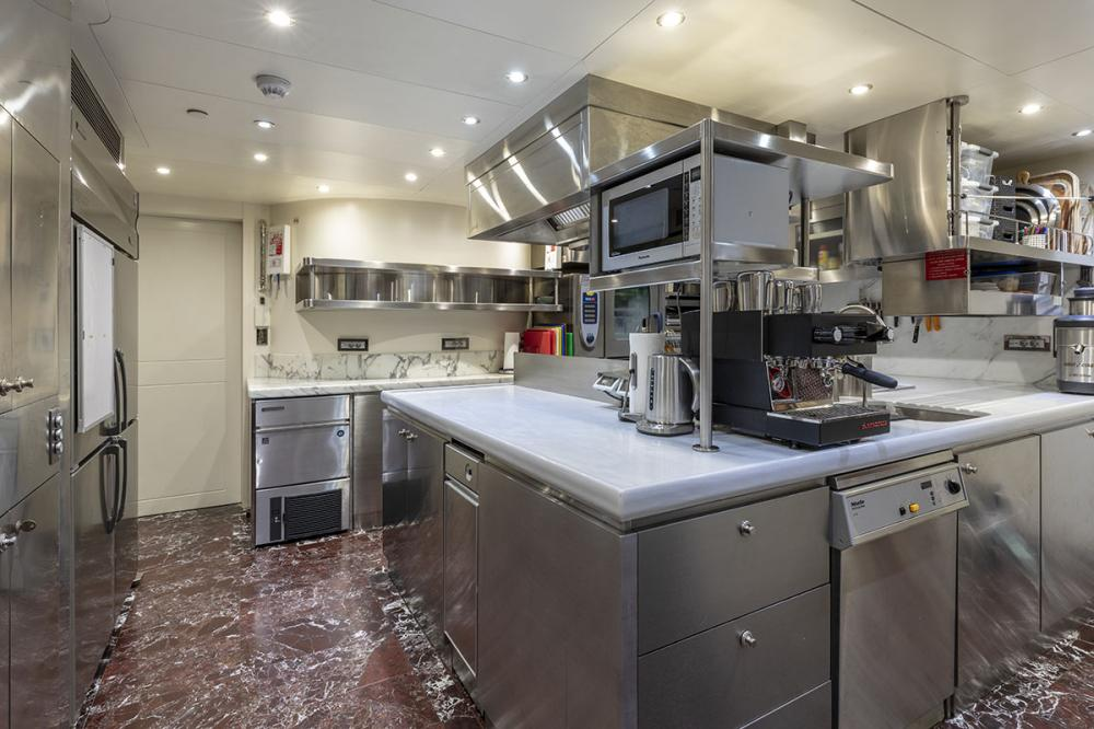 QING - Luxury Motor Yacht For Sale - GALLEY - Img 1 | C&N