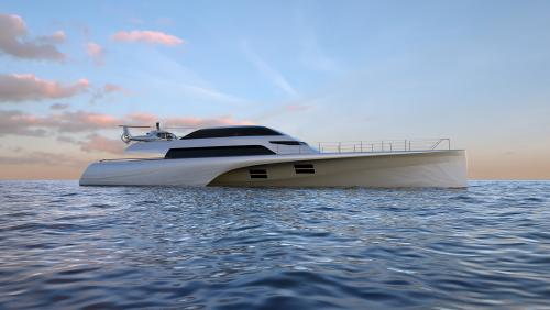 46M FRERS TRIMARAN - Luxury Motor Yacht for Sale | C&N