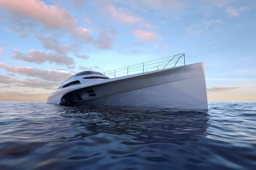 46M FRERS TRIMARAN - Luxury Motor Yacht For Sale - Exterior Design - Img 2 | C&N