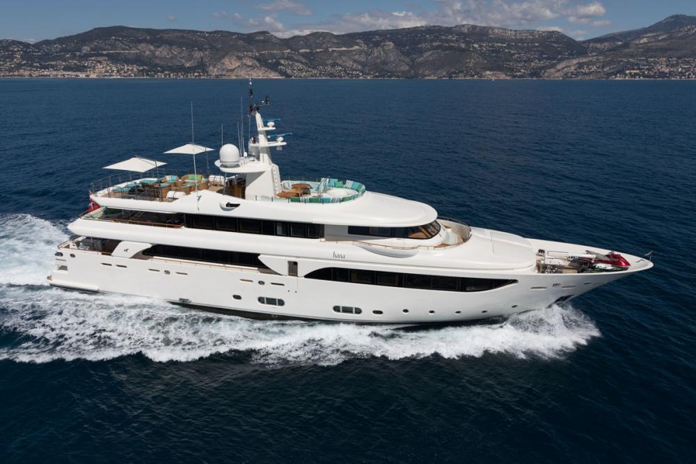 HANA - Luxury Motor Yacht for Charter | C&N