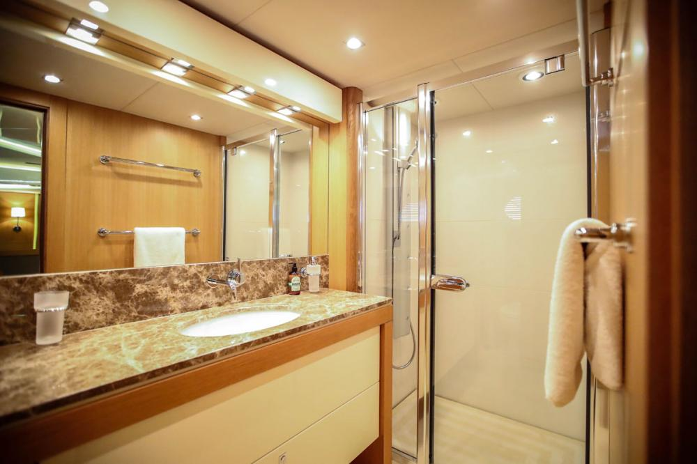 Manhattan Express II - Luxury Motor Yacht For Sale - 1 MASTER CABIN - Img 5 | C&N