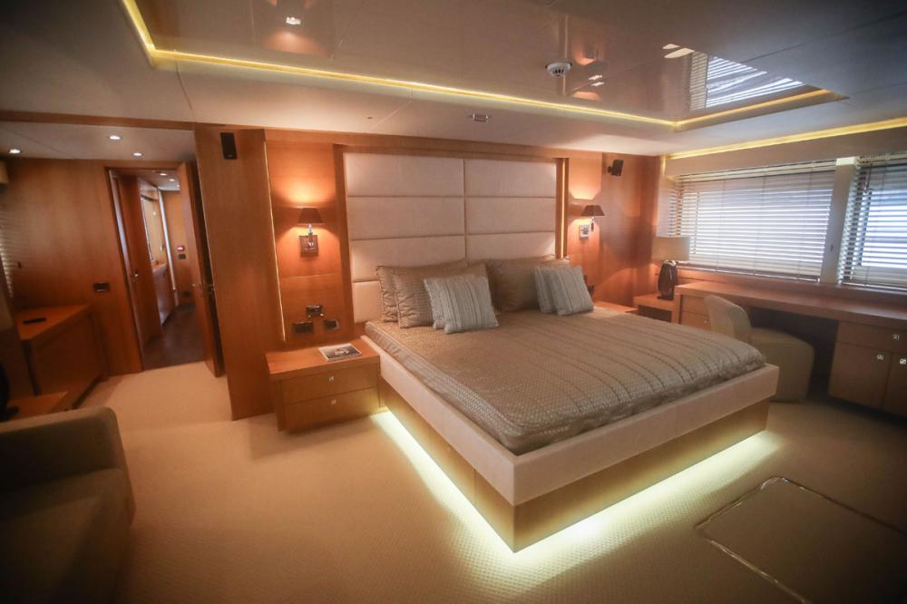 Manhattan Express II - Luxury Motor Yacht For Sale - 1 MASTER CABIN - Img 1 | C&N