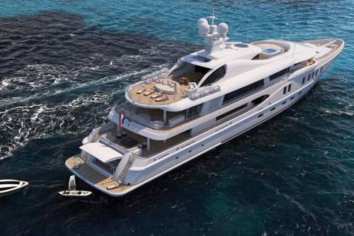 AURORA BOREALIS - Luxury Motor Yacht For Sale - Exterior Design - Img 2 | C&N