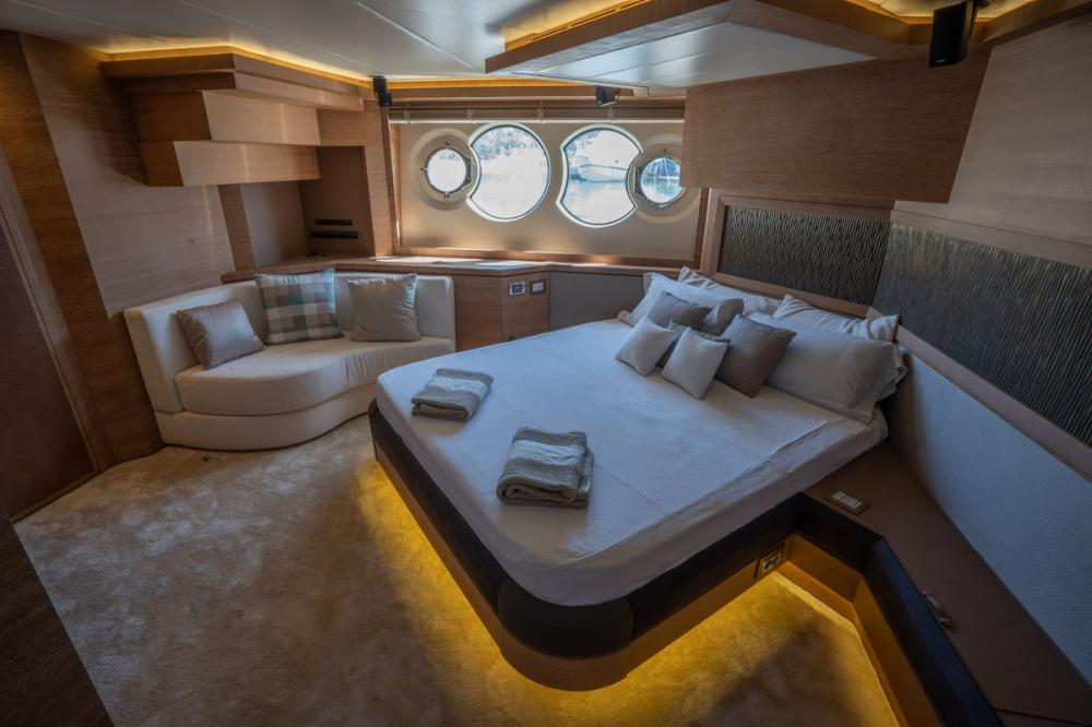 Beethoven - Luxury Motor Yacht For Sale - 1 MASTER CABIN - Img 2 | C&N