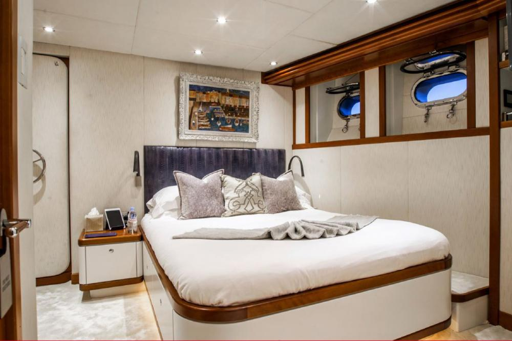 ZULU - Luxury Motor Yacht For Charter - Double Cabin - Img 2 | C&N