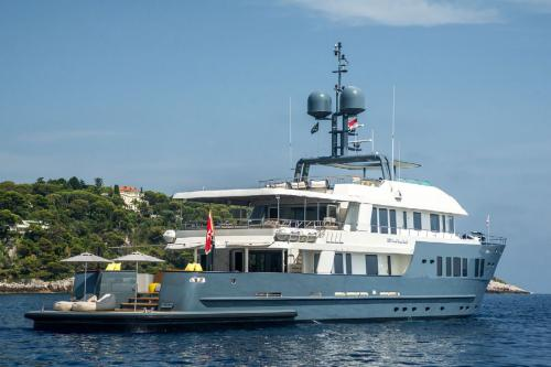 ZULU - Luxury Motor Yacht For Charter - Exterior Design - Img 1 | C&N