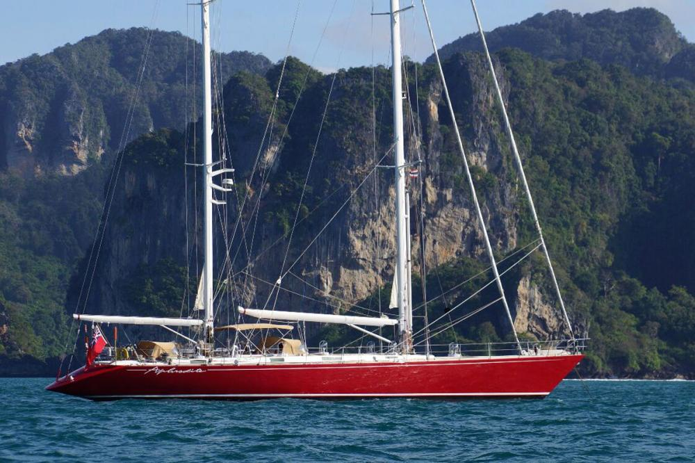 APHRODITE - Luxury Sailing Yacht for Charter | C&N