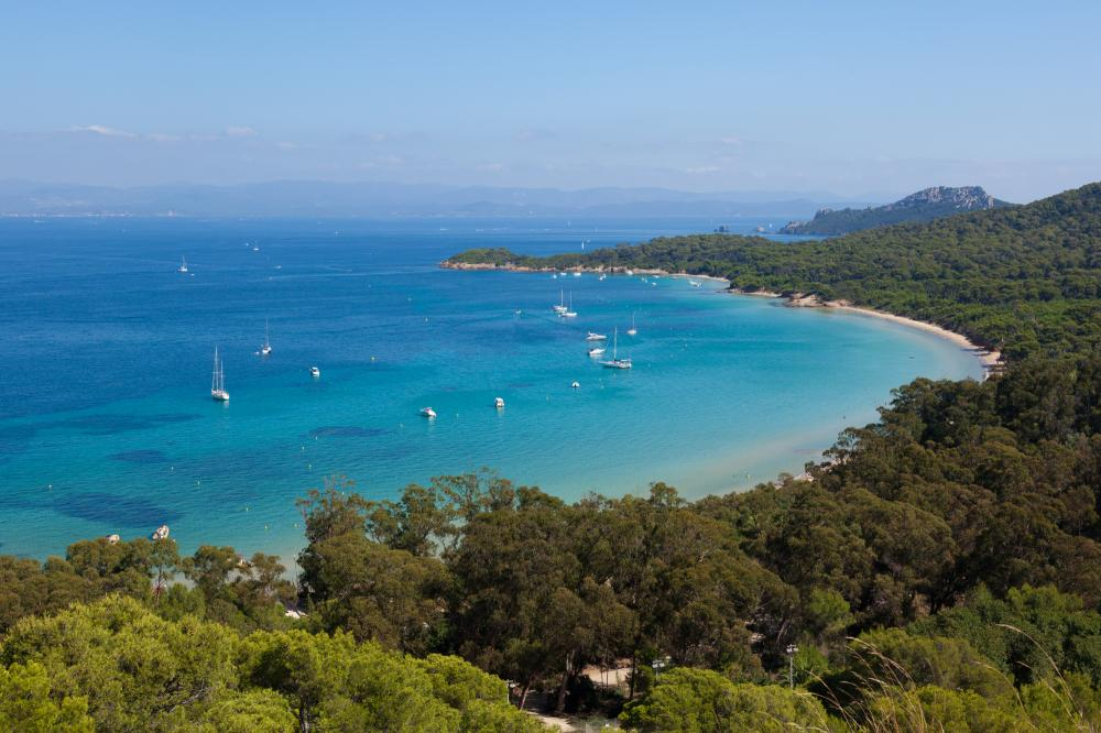 Portofino to Cannes - PORQUEROLLES - Luxury Charter Itinerary | C&N