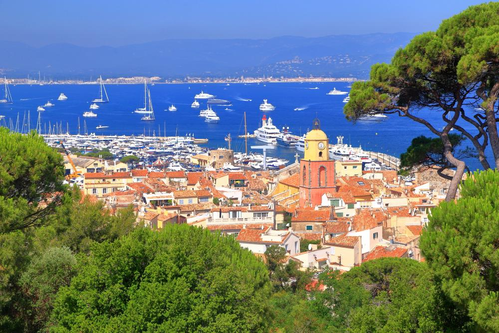 St Tropez and Porquerolles islands - Luxury Charter Itinerary | C&N
