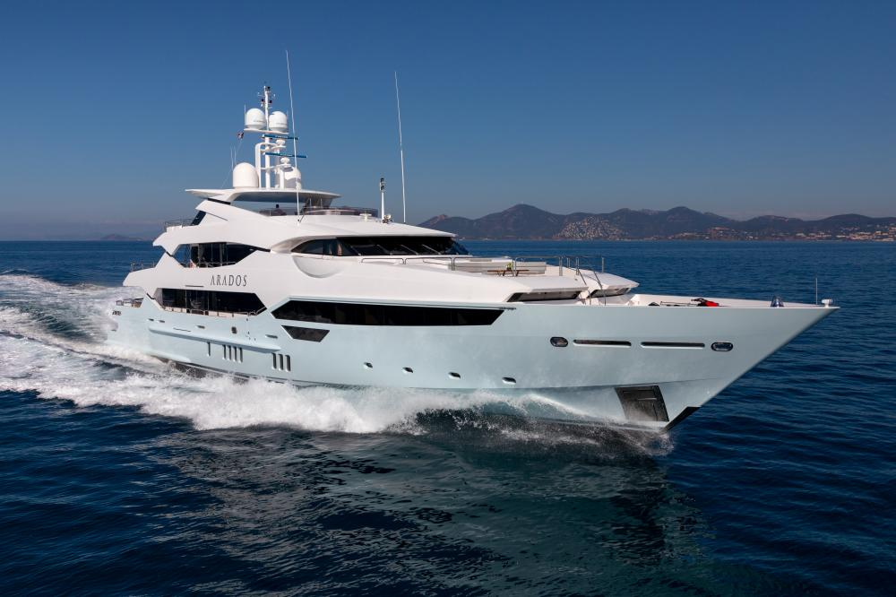 ARADOS - Luxury Motor Yacht for Charter | C&N