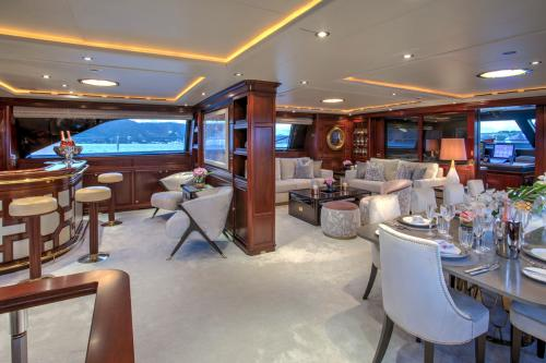 BLUSH - Luxury Sailing Yacht For Charter - Interior Design - Img 1 | C&N