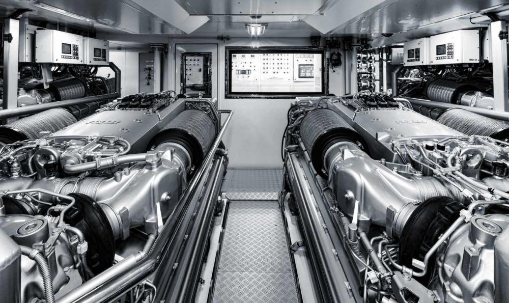 Project Portofino - Luxury Motor Yacht For Sale - ENGINE ROOM - Img 1 | C&N