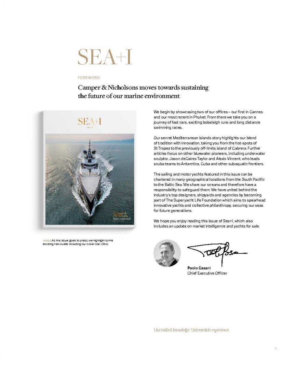 Issue 39 - SEA+I - Page 3 | C&N