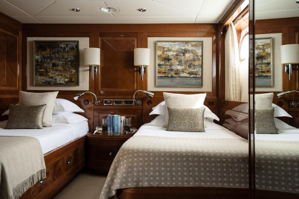 METSUYAN IV - Luxury Motor Yacht For Charter - 2 TWIN CABINS - Img 1 | C&N