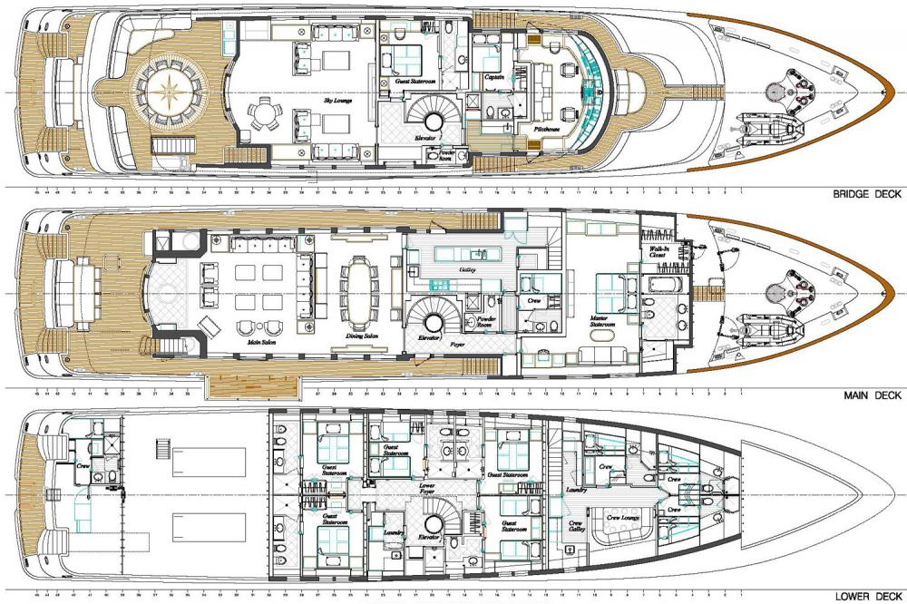 PURE BLISS - Luxury Motor Yacht For Charter -  - Img 1 | C&N