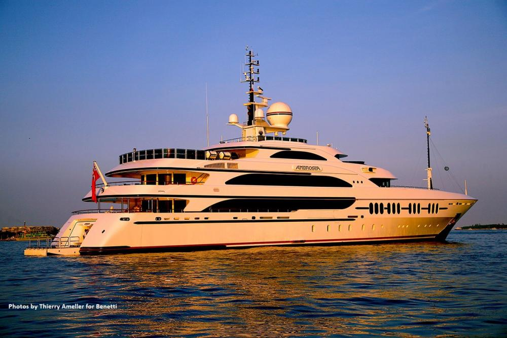 AMBROSIA - Luxury Motor Yacht for Sale | C&N