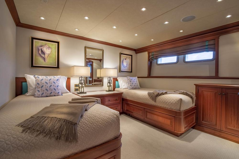 PURE BLISS - Luxury Motor Yacht For Charter - 2 Twin Guest Staterooms - Img 1 | C&N