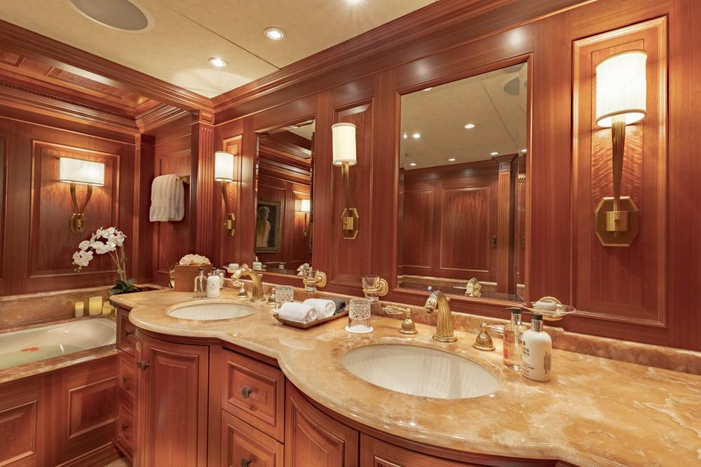 PURE BLISS - Luxury Motor Yacht For Charter - Owner's Stateroom - Img 4 | C&N
