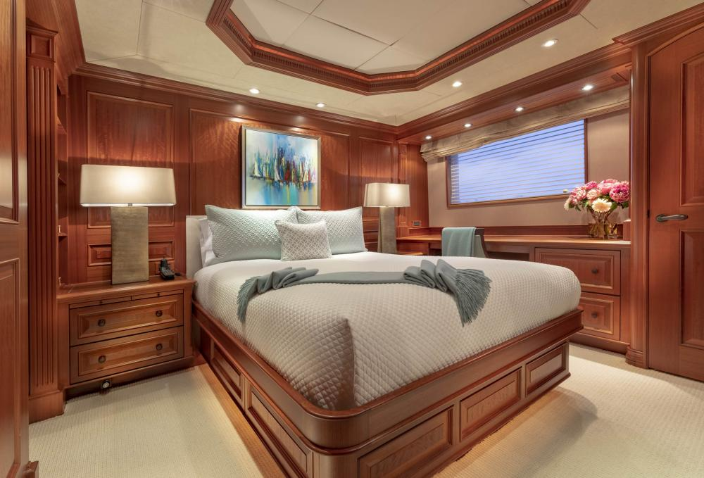 PURE BLISS - Luxury Motor Yacht For Charter - VIP Stateroom - Img 1 | C&N