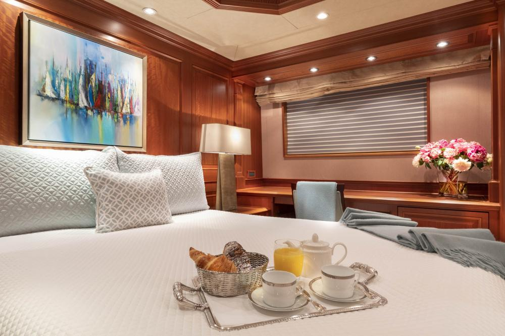 PURE BLISS - Luxury Motor Yacht For Charter - VIP Stateroom - Img 2 | C&N
