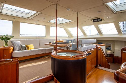 SURAMA - Luxury Sailing Yacht For Sale - Interior Design - Img 2 | C&N