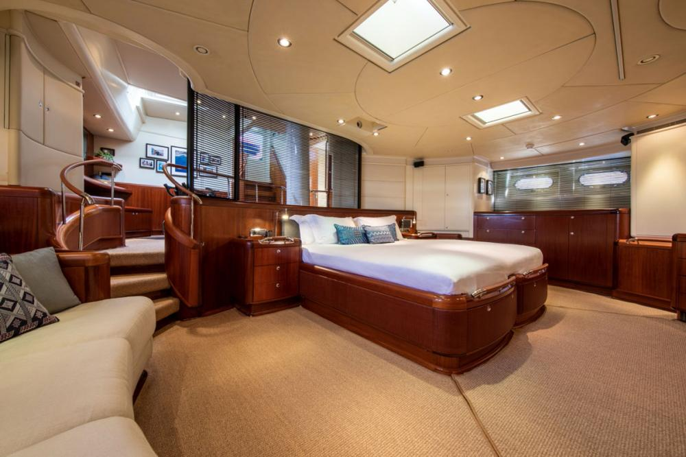 SURAMA - Luxury Sailing Yacht For Sale - Owner's Suite - Img 1 | C&N