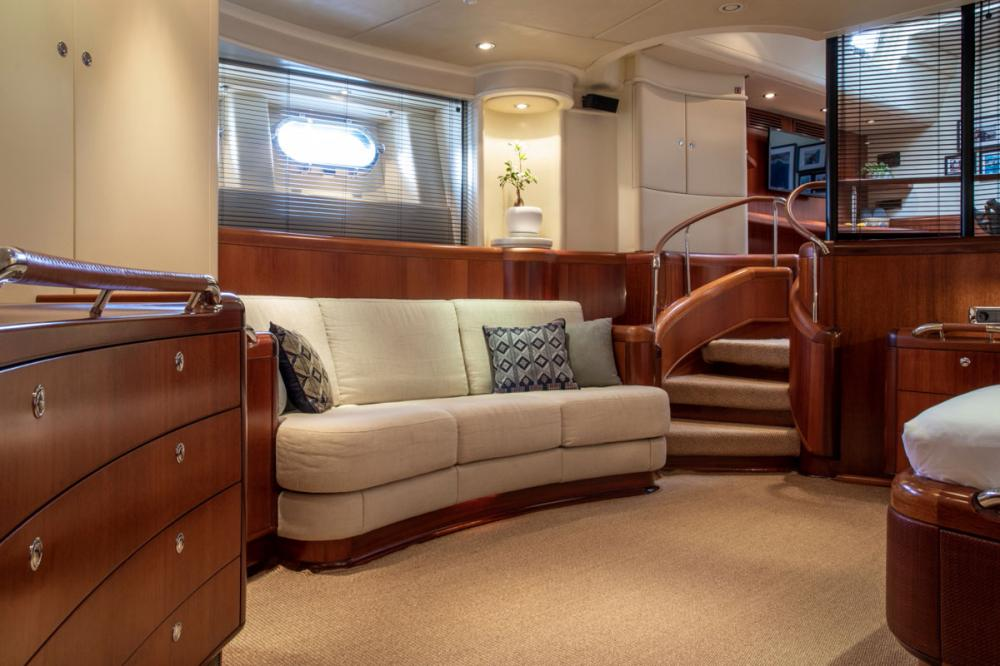 SURAMA - Luxury Sailing Yacht For Sale - Owner's Suite - Img 2 | C&N