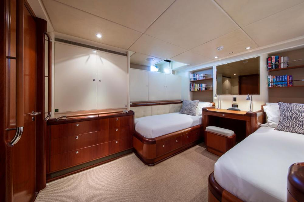 SURAMA - Luxury Sailing Yacht For Sale - Two Guest Cabins with additional pullman berths - Img 1 | C&N