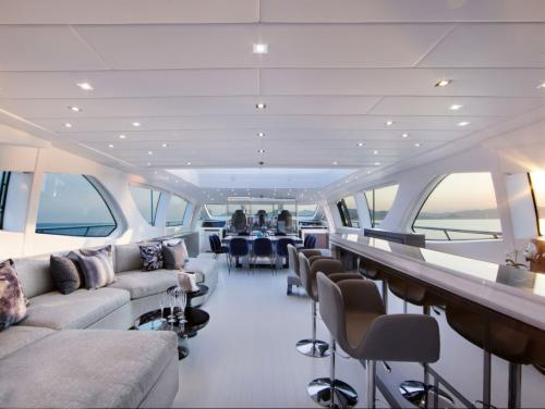 VENI VIDI VICI - Luxury Motor Yacht For Charter - Interior Design - Img 2 | C&N