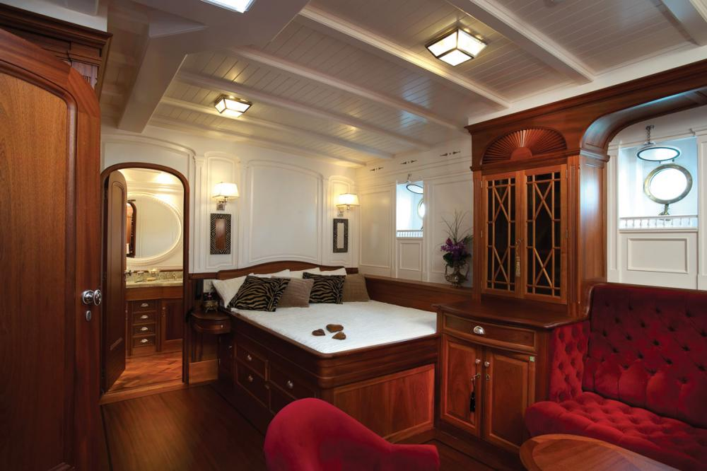 ATLANTIC - Luxury Sailing Yacht For Charter - 3 Double Staterooms all with ensuite  - Img 1 | C&N