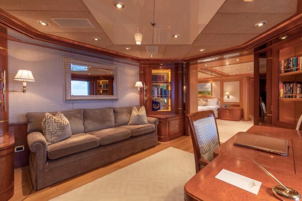 LAUREL - Luxury Motor Yacht For Charter - Master Suite - Img 3 | C&N