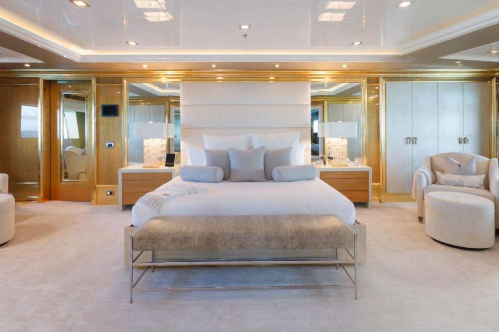 ANDIAMO 195 ft - Luxury Motor Yacht For Charter - Master Suite - Img 1 | C&N