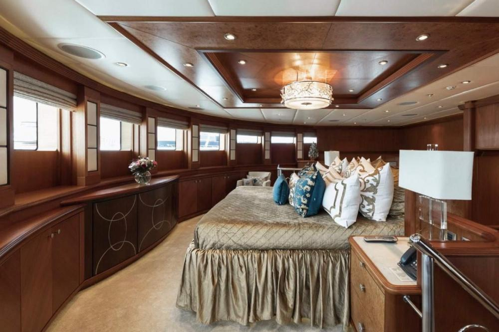 SKYFALL - Luxury Motor Yacht For Charter - Master Stateroom - Img 1 | C&N