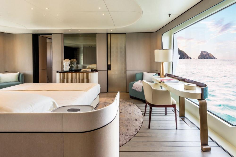 SOL - Luxury Motor Yacht For Sale - Owner Suite - Img 2 | C&N