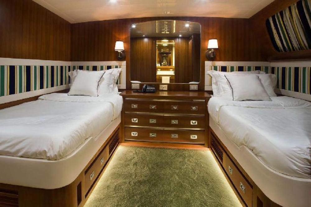 WIND OF FORTUNE - Luxury Motor Yacht For Charter - Five Twin cabins - Img 2 | C&N