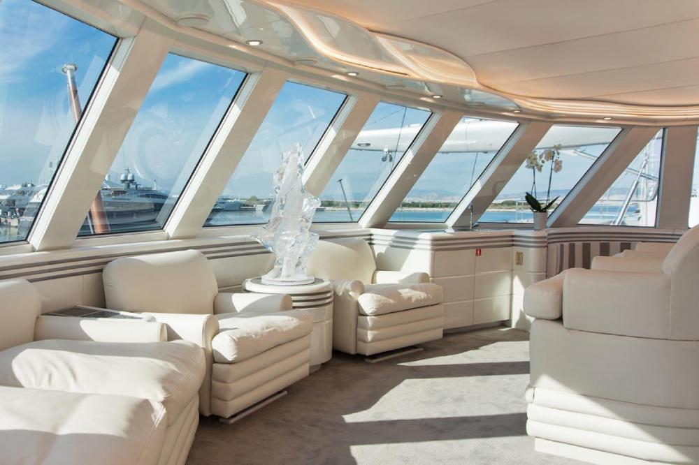 WIND OF FORTUNE - Luxury Motor Yacht For Charter - Master cabin - Img 1 | C&N