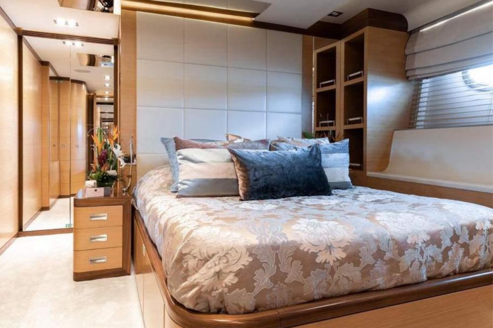 AFRICA I - Luxury Motor Yacht For Charter - Double Cabin - Img 3 | C&N