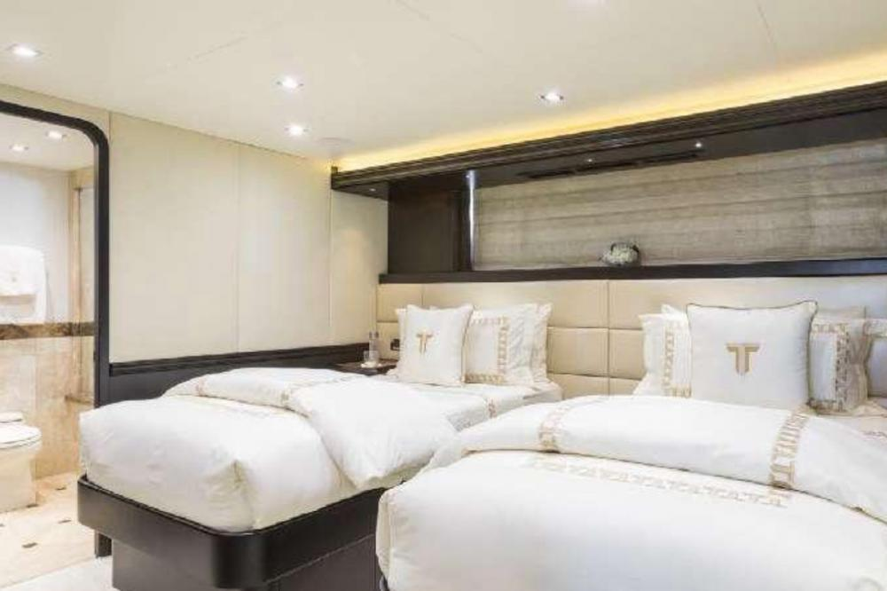 TANZANITE - Luxury Motor Yacht For Charter - Twin Cabins - Img 1 | C&N