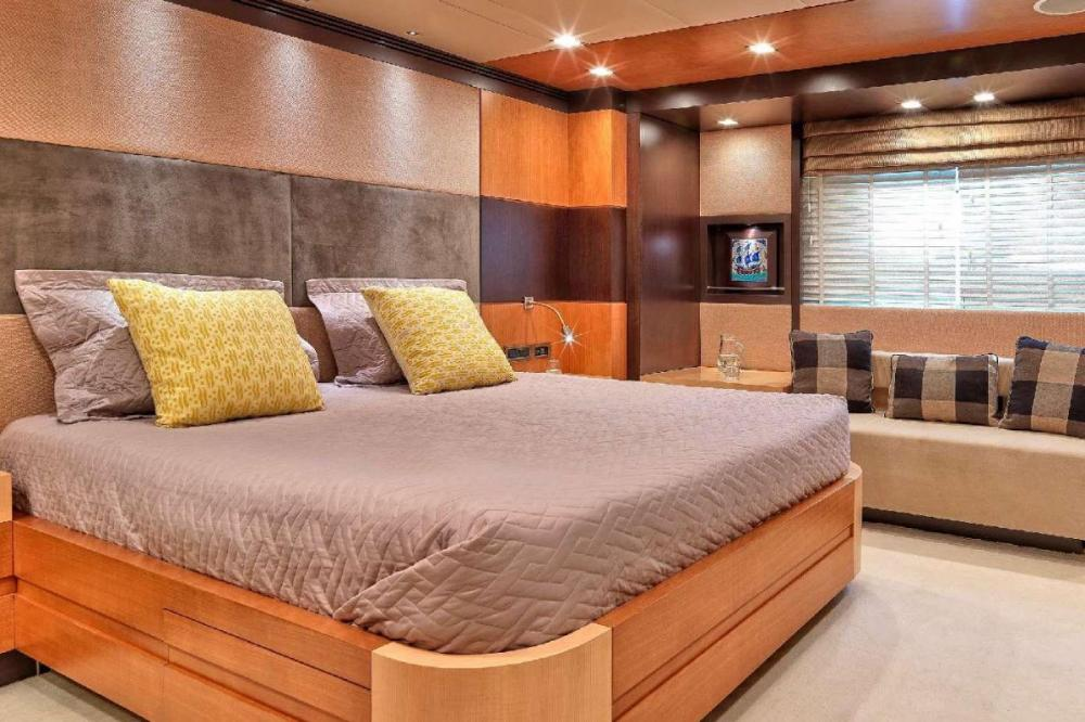 SERENITY II - Luxury Motor Yacht For Charter - Two Double Cabins - Img 1 | C&N