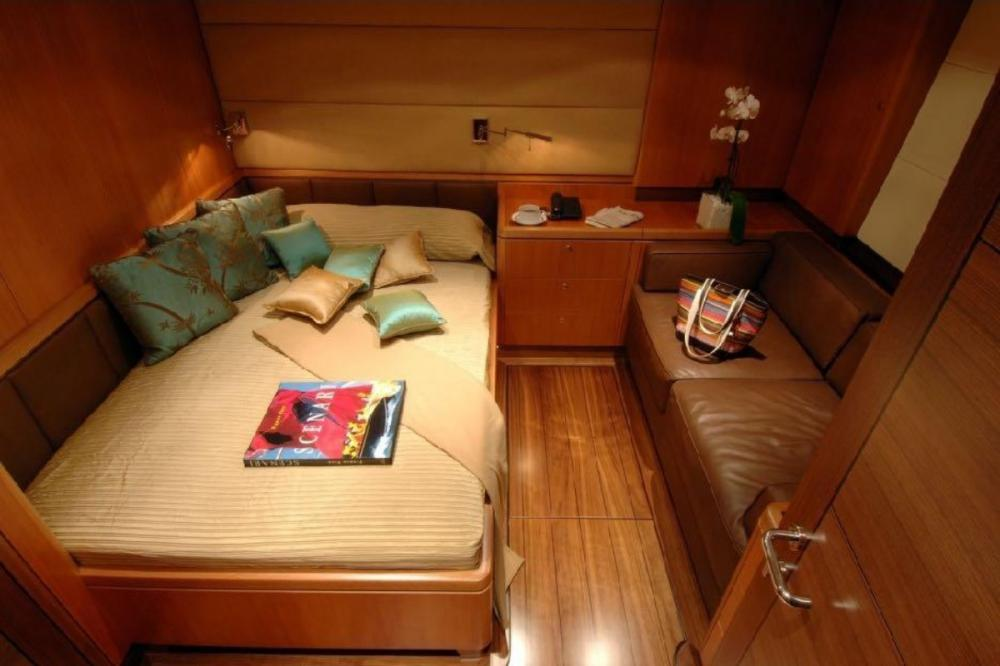 ARISTARCHOS - Luxury Sailing Yacht For Charter - VIP with 1 double and a single bed - Img 2 | C&N