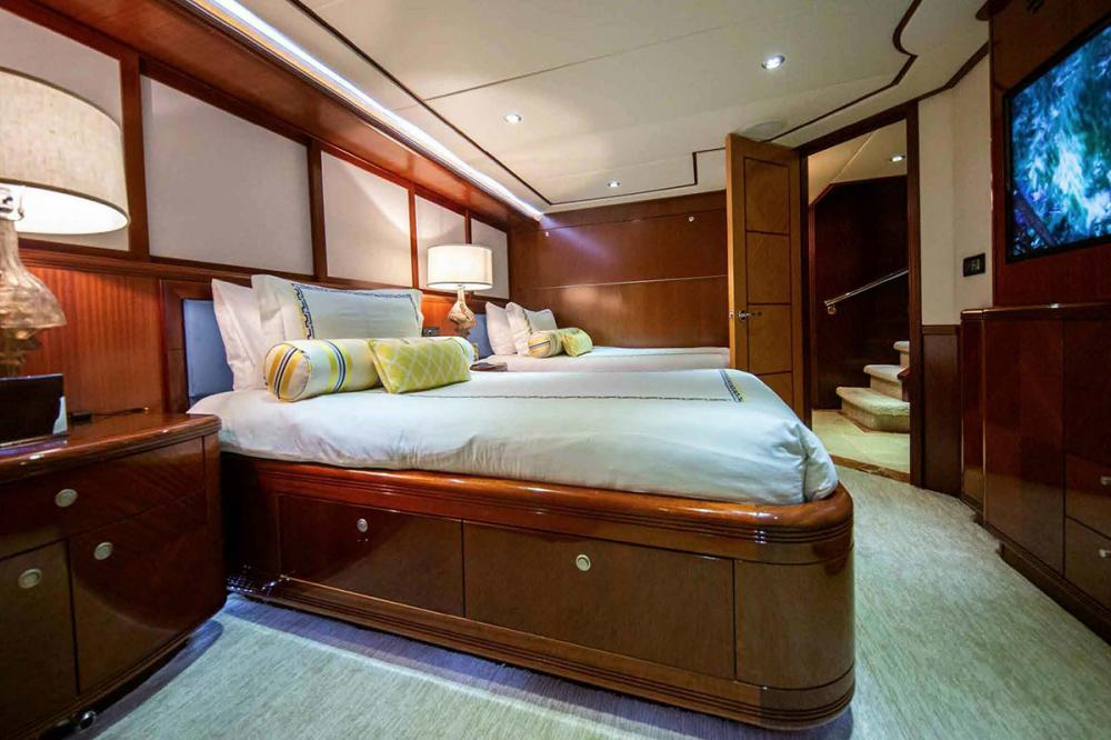 JUST ENOUGH - Luxury Motor Yacht For Charter - King Stateroom - Img 1 | C&N