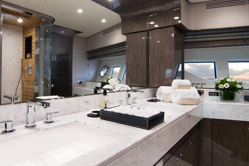 MEMORIES TOO - Luxury Motor Yacht For Charter - Master Cabin - Img 2 | C&N
