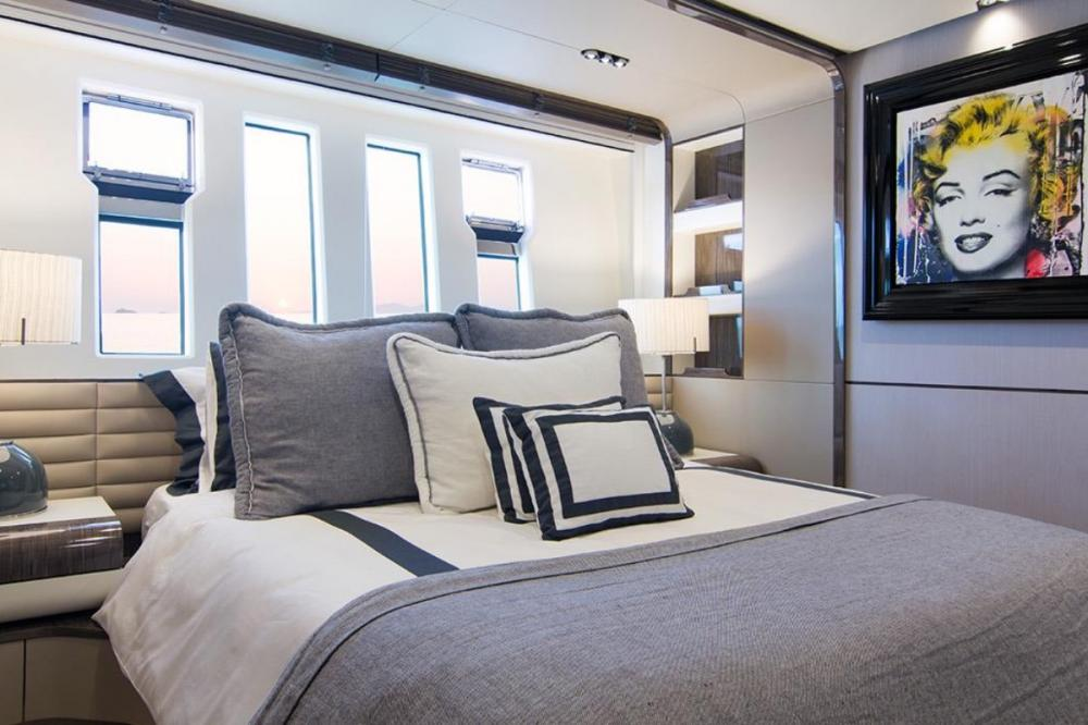 MEMORIES TOO - Luxury Motor Yacht For Charter - Master Cabin - Img 4 | C&N