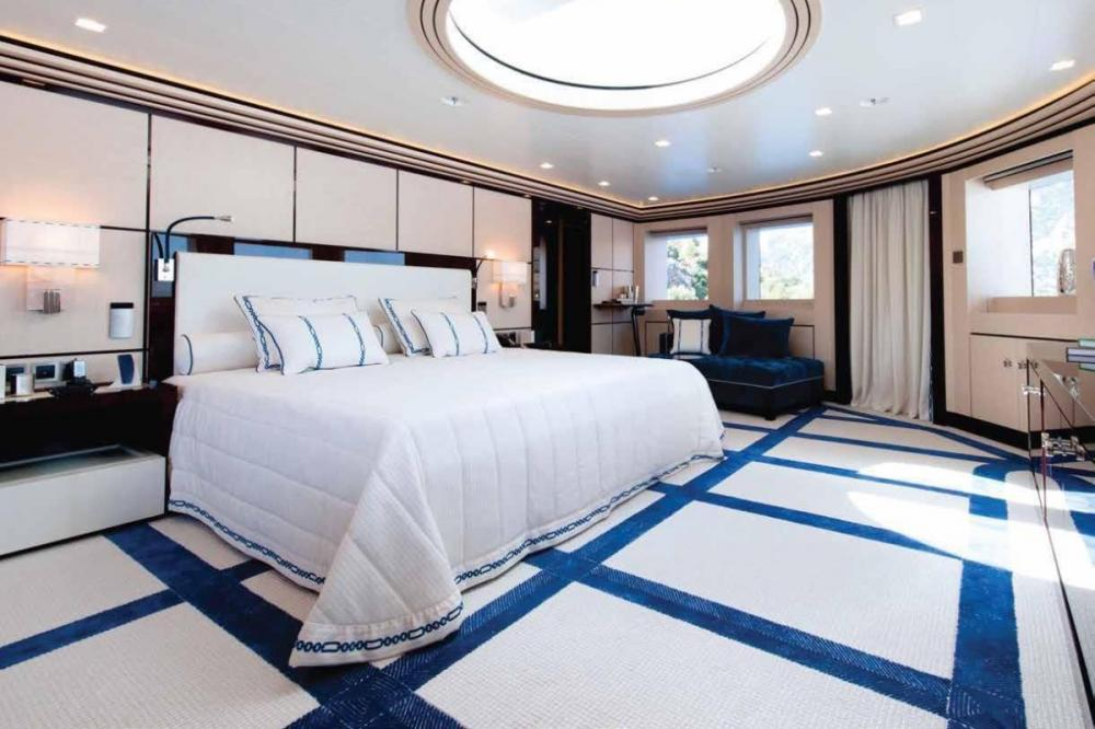 AXIOMA - Luxury Motor Yacht For Charter - 1 MASTER CABIN - Img 4 | C&N