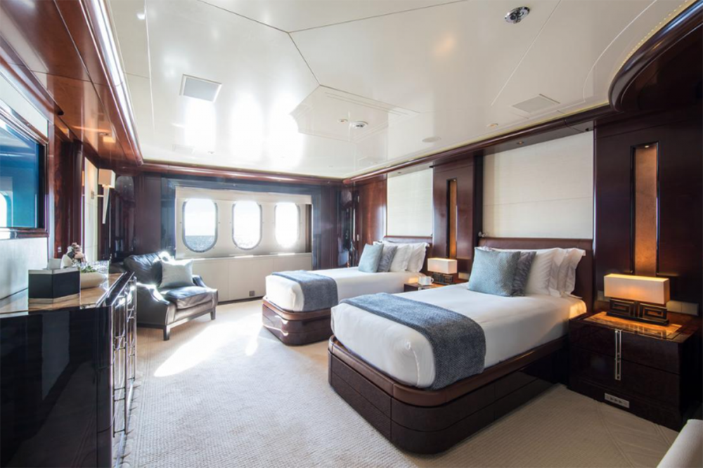 EMINENCE - Luxury Motor Yacht For Charter - Master Cabin - Img 8 | C&N