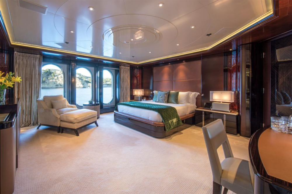 EMINENCE - Luxury Motor Yacht For Charter - Master Cabin - Img 9 | C&N